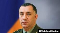 Armenia - Lieutenant-General Stepan Galstian, deputy chief of the Armenian Army's General Staff.