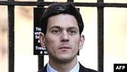 Міністр закордонних справ Великобританії Девід Мілібанд, 2008 р.
