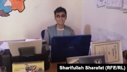 Ehsanullah Wulasmal, a freelance journalist in Uruzgan's capital Tarinkot.