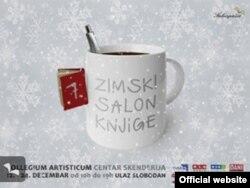 Plakat za ovogodišnji 7. Zimski salon knjige