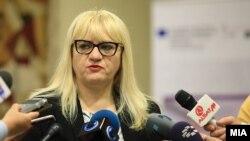 Министерката за правда Рената Дескоска