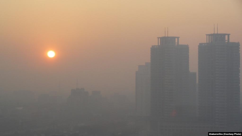 تعطیلی مدارس تهران به خاطر آلودگی هوا