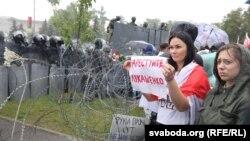 اعتراضها با تدابیر شدید امنیتی در بلاروس