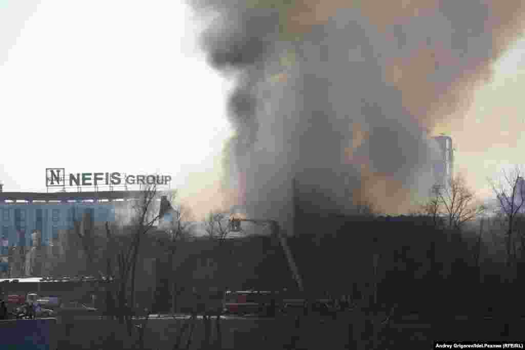 В доме Багаутдиновой-Апанаевой выгорело 40 квадратных метров