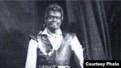 Arnold Azrikan la ultimul său spectacol la Chișinău (1968)