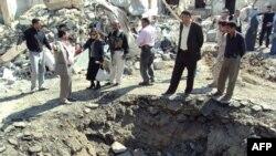 موقع تفجير انتحاري لسيارته في ديالى في 14 آذار 2011