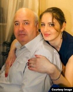 Татьяна Качан с отцом
