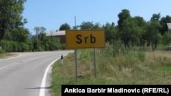 Ulaz u mjesto Srb u Hrvatskoj, ilustrativna fotografija