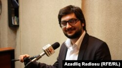 Azerbaijan -- youth activist Ramin Hajili - Baku, May2013