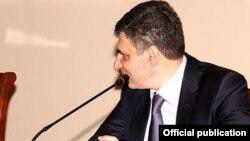 Заместитель министра обороны Армении Давид Пахчанян (архив)