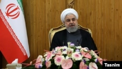 President Hassan Rouhani in Mehrabad airport leaving for a visit to Armenia, September 30, 2019.