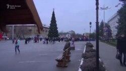 В Бендерах 27 ноября состоялось торжественное открытие ёлки