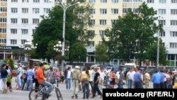 """""""Рэвалюцыя праз сацыяльную сетку"""", 15 чэрвеня 2011, Віцебск"""