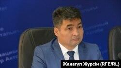 Асет Калиев, руководитель управления здравоохранения Актюбинской области.