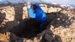 Бишкектеги түштүк-батыш көрүстөнү толгону калды
