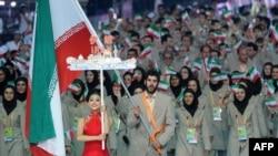 کاروان ورزشی ایران در رقابتهای آسیایی گوانگژو در چین
