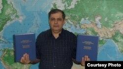 Проживающий в США узбекский журналист Джахонгир Мухаммад.