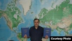 Узбекский журналист Джахонгир Мухаммад.