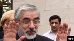 Mir Hossein Mousavi, lideri i opozitës në Iran.