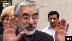 Мір-Хосейн Мусаві під час президентської кампанії 2009 року
