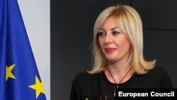 Ministarka za evropske integracije Srbije Jadranka Joksimović