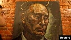 Konstantin Altuninning Peterburgdagi ko'rgazmasiga qo'yilgan suratlardan biri.