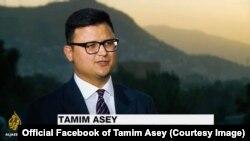 تمیم عاصی٬ معاون پیشین وزیر دفاع و رییس انستیتوت مطالعات جنگ و صلح
