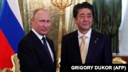Ռուսաստանի նախագահ Վլադիմիր Պուտին և Ճապոնիայի վարչապետ Սինձո Աբե, արխիվ