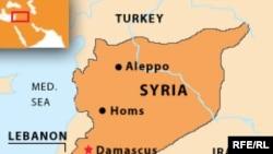 Сирия картасы