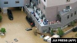 Poplave iz jula ove godine uzrokovane ogromnim padavinama u kojima je poginulo najmanje 48 ljudi, arhivska fotografija