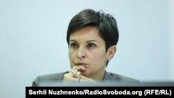 Голова ЦВК України Тетяна Сліпачук