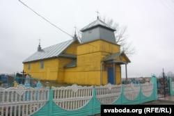 Міхайлаўская царква ў Аброве