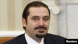 Бывший премьер-министр Ливана Саад аль-Харири.