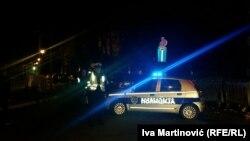 Arhivska snimka, policija ispred kuće Milana Beka, 14. novembar 2014.