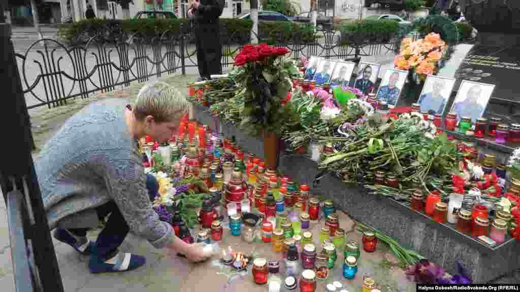 День скорби по погибшим во время антитеррористической операции военным в Ивано-Франковске - 30 мая 2014