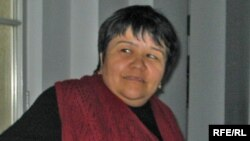 Mutabar Tojibaeva in Berlin last month