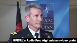 Army General John Nicholson, U.S. commander in Afghanistan