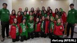 آرشیف/ تیم ملی فوتبال بانوان افغانستان
