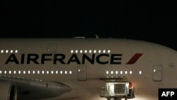 Air France ընկերության օդանավ, արխիվ