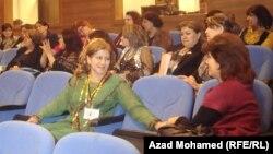 ناشطات كرديات في فعالية عن العنف ضد المرأة