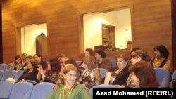 جانب من مؤتمر مناهضة العنف ضد المرأة