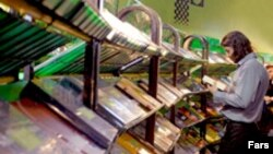 اتحاديه ناشران و کتابفروشان تهران در نامه اخير خود باز هم بر موضع اصولی خود در مخالفت با هر نوع سانسور تاکيد کرده است(عکس:فارس)