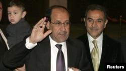 نوری المالکی؛ دقایقی پس از انداختن رأی به صندوق