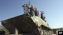 نیروهای نظامی حکومت سوریه