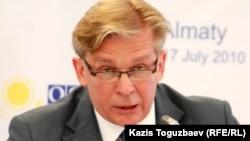 Lithuanian Foreign Minister Audronius Azubalis (file photo)