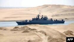 Pamje nga Kanali i Suezit