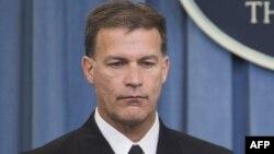 Вице-адмирал ВМФ США Крис Акилино.