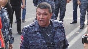 Глава полиции Армении Владимир Гаспарян.