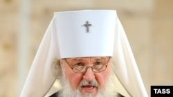 Metropolitan Kirill in Moscow on January 25.