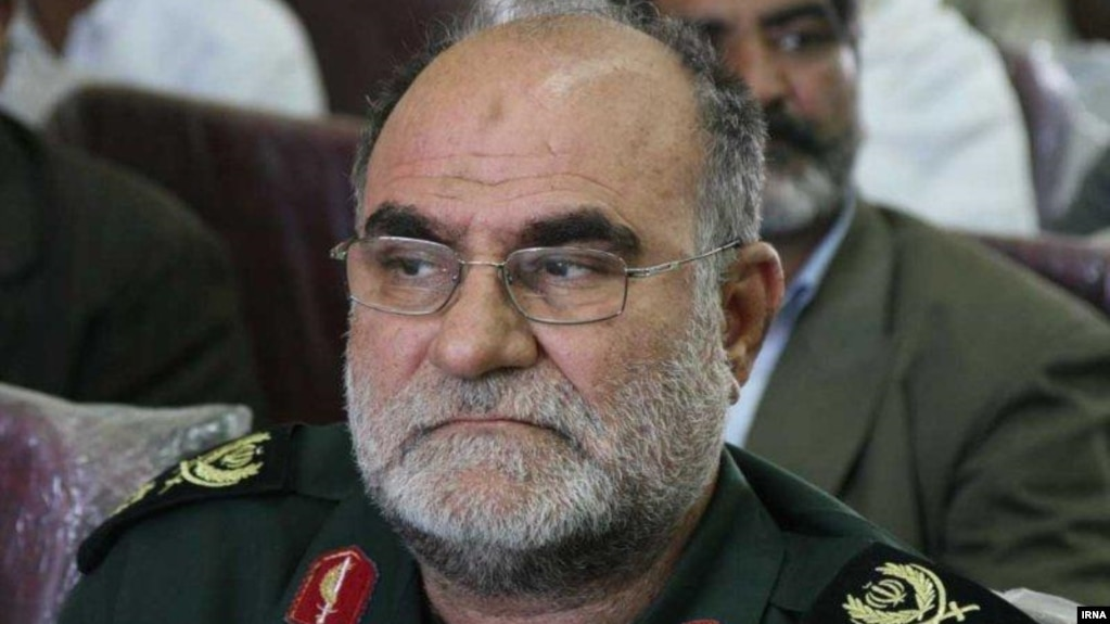 Qodratollah Mansouri, a regional commander of the Revolutionary Guard